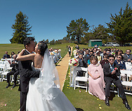 2016/04/30 -- Belinda & Modern -- Belinda Liu and Modern Weng wedding at Crystal Springs Golf Club in Burlingame, Calif., on April 30, 2016.<br /> <br /> Banquet at Grand Palace Seafood Restaurant in South San Francisco, Calif., on April 30, 2016<br /> <br /> Photos by Michael Chen