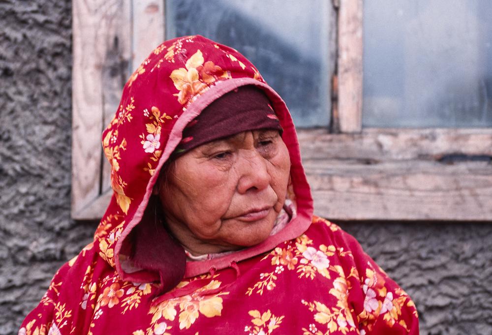 Woman elder, Town of Lorino, Chukotsk Peninsula, NE Russia 1992