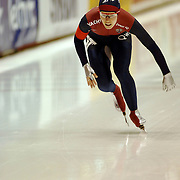 NLD/Heerenveen/20060122 - WK Sprint 2006, 2de 1000 meter dames, Amy Sannes
