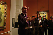 Barry Munitz  (President and chief executive officer J. Paul Getty Trust. ) , Celebration honouring the arrival of Deborah Swallow, director, Courtauld Institute of Art. Courtauld Gallery. Somerset House. 9 December 2004. ONE TIME USE ONLY - DO NOT ARCHIVE  © Copyright Photograph by Dafydd Jones 66 Stockwell Park Rd. London SW9 0DA Tel 020 7733 0108 www.dafjones.com