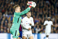 March 14, 2018 - Barcelona, Catalonia, Spain - FC Barcelona goalkeeper Marc-Andre ter Stegen (1) during UEFA Champions League match between FC Barcelona and Chelsea FC at Camp Nou Stadium corresponding of Round of 16, Second leg on March 14, 2018 in Barcelona, Spain. (Credit Image: © Urbanandsport/NurPhoto via ZUMA Press)