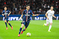 Javier PASTORE - 28.04.2015 - Paris Saint Germain / Metz - Match en retard - 32eme journee Ligue 1<br />Photo : Nolwenn Le Gouic / Icon Sport