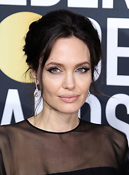 75th Annual Golden Globes. 07 Jan 2018 Pictured: Angelina Jolie. Photo credit: MEGA TheMegaAgency.com +1 888 505 6342