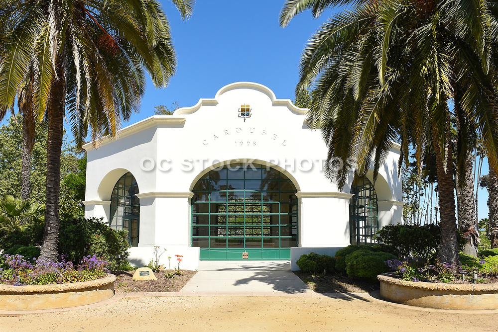 Carousel House at Chase Palm Park in Santa Barbara
