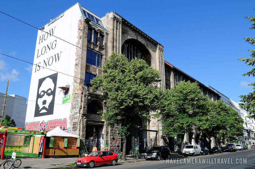 Kunsthaus, an artist collective, in former East Berlin