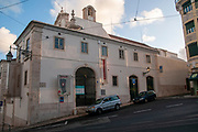 Exterior of the Convent of Saint Peter of Alcantara (Convento de Sao Pedro de Alcantara), Bairro Alto, Lisbon, Portugal