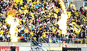 Fans. Super Rugby Aotearoa. Hurricanes v Crusaders, Sky Stadium, Wellington. Sunday 11th April 2021. Copyright photo: Grant Down / www.photosport.nz
