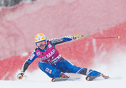 20.01.2013, Olympia delle Tofane, Cortina d Ampezzo, ITA, FIS Weltcup Ski Alpin, Super G, Damen, im Bild Jessica Lindell-Vikarby (SWE) // Jessica Lindell-Vikarby of Sweden in action during the ladies Super G of the FIS Ski Alpine World Cup at the Olympia delle Tofane course, Cortina d Ampezzo, Italy on 2013/01/20. EXPA Pictures © 2013, PhotoCredit: EXPA/ Johann Groder
