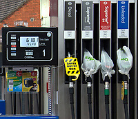 """FUEL SUPPLIERS have released a statement insisting they expect demand for petrol to return to normal levels """"in the coming days"""".<br />  photo By Terry Scott"""