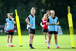 Jas Matthews and Flo Allen of Bristol City Women during training at Failand - Mandatory by-line: Robbie Stephenson/JMP - 26/09/2019 - FOOTBALL - Failand Training Ground - Bristol, England - Bristol City Women Training