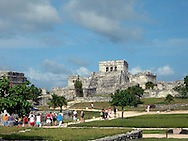 The Mayan ruins of Tulum, on the Mayan Riviera of Quintana Roo, Mexico, on May 24, 2007. (© 2007 Cindi Christie)