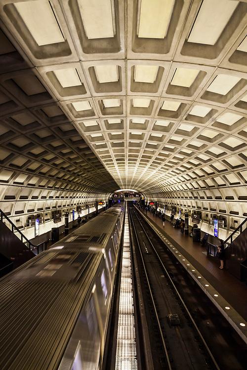 The Dupont Circle Metro Station in Washington DC, USA.