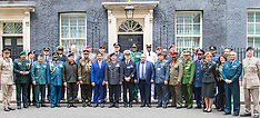 2016-05-19 Downing Street invaded by senior military officers from around the world