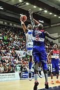 DESCRIZIONE : Campionato 2014/15 Dinamo Banco di Sardegna Sassari - Enel Brindisi<br /> GIOCATORE : Jeff Brooks<br /> CATEGORIA : Tiro<br /> SQUADRA : Dinamo Banco di Sardegna Sassari<br /> EVENTO : LegaBasket Serie A Beko 2014/2015<br /> GARA : Dinamo Banco di Sardegna Sassari - Enel Brindisi<br /> DATA : 27/10/2014<br /> SPORT : Pallacanestro <br /> AUTORE : Agenzia Ciamillo-Castoria / M.Turrini<br /> Galleria : LegaBasket Serie A Beko 2014/2015<br /> Fotonotizia : Campionato 2014/15 Dinamo Banco di Sardegna Sassari - Enel Brindisi<br /> Predefinita :