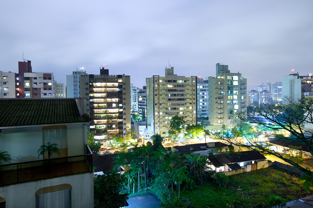 Joinville, Santa Catarina State, Brazil, South America - Cityscape of a residential district at Joinville.