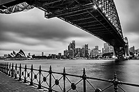 Sydney Harbour Bridge & Opera House (Overcast)