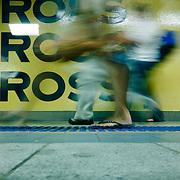 Sydney subway. Foot in Kings Cross Station