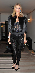 EVA HERZIGOVA at the Harper's Bazaar Women of the Year Awards 2011 held at Claridge's, Brook Street, London on 7th November 2011.
