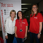 London, UK. 7th October, 2016. Anthea Turner at the Byte Night 2016 - Action for Children to tackle youth homelessness in London at Norton Rose Fulbright, 3 More London Riverside, London, UK. Photo by See Li