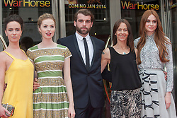 Amy Manson, Freya Mayor, Stanley Weber,Kate Dickie,Karen Gillan<br /> Closing night of EIFF gala screening of Not Another Happy Ending at the Festival Theatre.<br /> ©Michael Schofield.