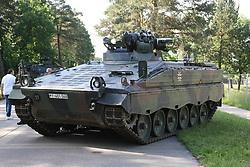 June 10, 2017 - Augustdorf, Germany - German Army Day in Augustdorf Picture shows: Armored infantry vehicle (Schuetzenpanzer) Marder (Credit Image: © Maik Boenisch/Pacific Press via ZUMA Wire)