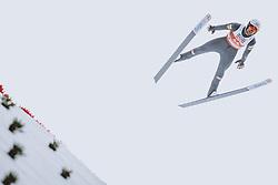 04.03.2021, Oberstdorf, GER, FIS Weltmeisterschaften Ski Nordisch, Oberstdorf 2021, Herren, Nordische Kombination, Einzelbewerb, Skisprung HS 137, im Bild Lukas Greiderer (AUT) // Lukas Greiderer (AUT) during a trainings session for the ski Jumping HS 137 Competition of men Nordic combined Single of FIS Nordic Ski World Championships 2021 in Oberstdorf, Germany on 2021/03/04. EXPA Pictures © 2021, PhotoCredit: EXPA/ JFK