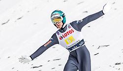 19.01.2019, Wielka Krokiew, Zakopane, POL, FIS Weltcup Skisprung, Zakopane, Herren, Teamspringen, im Bild Michael Hayboeck (AUT) // Michael Hayboeck of Austria during the men's team event of FIS Ski Jumping world cup at the Wielka Krokiew in Zakopane, Poland on 2019/01/19. EXPA Pictures © 2019, PhotoCredit: EXPA/ JFK