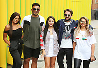 Marnie Simpson, Nathan Henry, Chloe Ferry, Abbie Holborn & Aaron Chalmers, Geordie Shore 15 - Series Launch Photocall, MTV HQ, London UK, 29 August 2017, Photo by Brett D. Cove