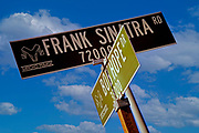 Image of famous street signs in Palm Springs, California by Randy Wells