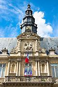 Hotel de Ville town hall in Place de l'Hotel de Ville in Reims, Champagne-Ardenne, France