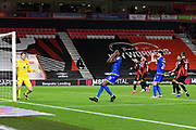 Sammy Ameobi (11) of Nottingham Forset reacts after his shot at goal goes over the bar during the EFL Sky Bet Championship match between Bournemouth and Nottingham Forest at the Vitality Stadium, Bournemouth, England on 24 November 2020.