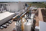 Exterior of the Puris pea protein processing facility in Dawson, Minnesota, on Tuesday, June 8, 2021.