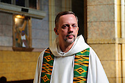 Rev. Thomas Walsh is Pastor at St. Martin De Porres Parish on Chicago's far west side. August 2nd, 2014 l Brian J. Morowczynski-ViaPhotos<br /> <br /> For use in a single edition of Catholic New World Publications, Archdiocese of Chicago. Further use and/or distribution may be negotiated separately. <br /> <br /> Contact ViaPhotos at 708-602-0449 or email brian@viaphotos.com.