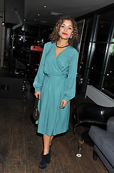 ANTONIA THOMAS at the InStyle Best of British Talent Event in association with Lancôme and Avenue 32 held at The Rooftop Restaurant, Shoreditch House, Ebor Street, London E1 on 30th January 2013.