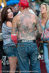Full Throttle Saloon during the 75th Annual Sturgis Black Hills Motorcycle Rally.  SD, USA.  August 7, 2015.  Photography ©2015 Michael Lichter.