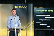 Dr Charles Pedlar at the Orreco Science Summit, Glenlo Abbey Hotel, Galway, 25.10.16