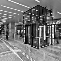 Cornavin renovated railway station, Geneva, Switzerland