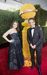 January 6, 2019 - Beverly Hills, California, United States of America - Ella Stiller and Ben Stiller attend the 76th Annual Golden Globe Awards at the Beverly Hilton in Beverly Hills, California on  Sunday, January 6, 2019. HFPA/POOL/PI (Credit Image: © Prensa Internacional via ZUMA Wire)