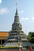 Cambodia,  Phnom Penh, Royal Palace  Silver pagoda