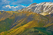 Ogilvie Mountains along the Dempster Highway, Dempster HIghway, Yukon, Canada