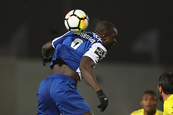March 11, 2018 - Pacos Ferreira, Pacos Ferreira, Portugal - Porto's Cameroonian forward Vincent Aboubakar in action during the Premier League 2017/18 match between Pacos Ferreira and FC Porto, at Mata Real Stadium in Pacos de Ferreira on March 11, 2018. (Credit Image: © Dpi/NurPhoto via ZUMA Press)