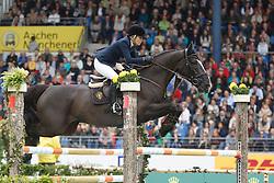Alexander Edwina, (AUS), Ego Van Orti<br /> Rolex Grand Prix, The Grand Prix of Aachen<br /> Weltfest des Pferdesports Aachen 2015<br /> © Hippo Foto - Dirk Caremans<br /> 31/05/15