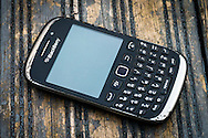 London, England - September 30, 2016: Blackberry Smartphone, As of Sept 2016 Blackberry Limited has announced that it will no longer make Smartphones due to poor sales worldwide