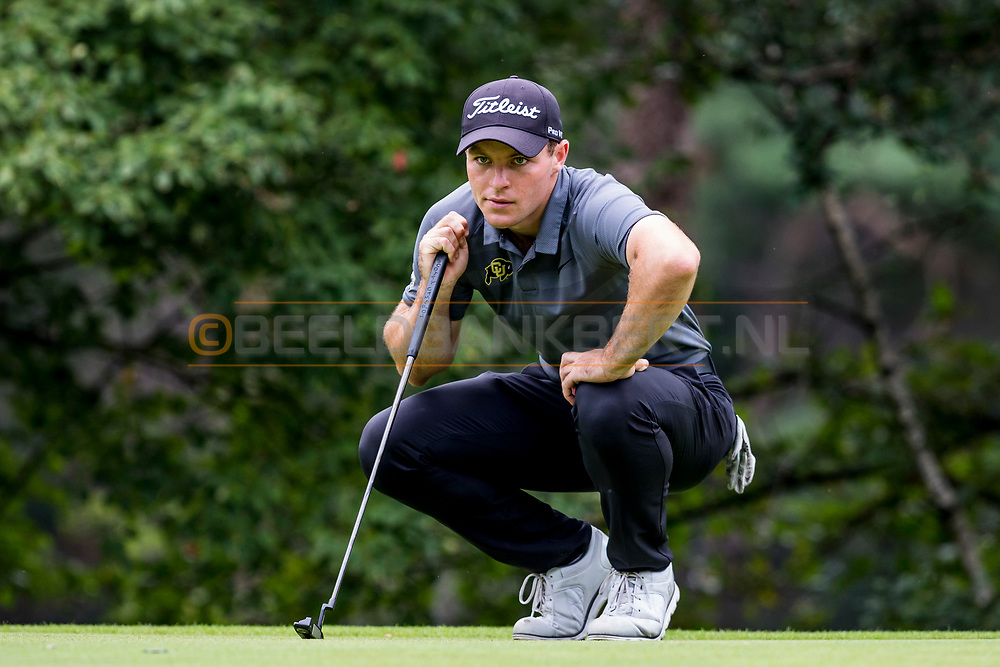 20-07-2019 Pictures of the final day of the Zwitserleven Dutch Junior Open at the Toxandria Golf Club in The Netherlands.<br /> PATERSON, John