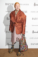 LONDON - OCTOBER 31: Vivienne Westwood attended the Harper's Bazaar Women of the Year Awards at Claridge's Hotel, London, UK. October 31, 2012. (Photo by Richard Goldschmidt)