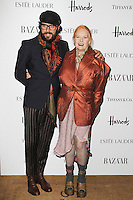LONDON - OCTOBER 31: Andreas Kronthaler; Vivienne Westwood attended the Harper's Bazaar Women of the Year Awards at Claridge's Hotel, London, UK. October 31, 2012. (Photo by Richard Goldschmidt)
