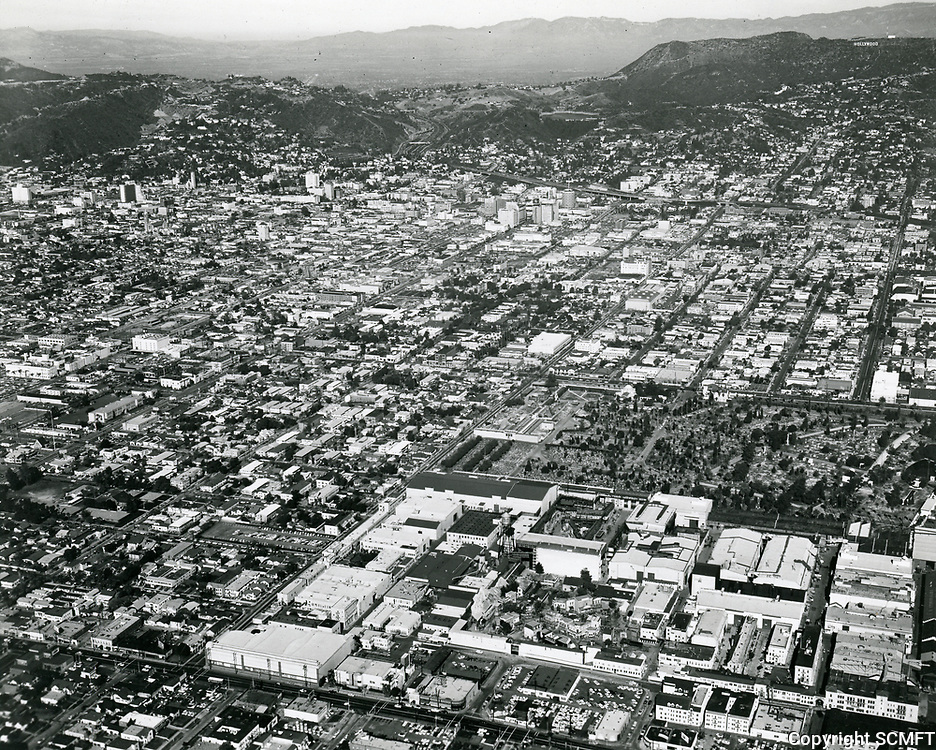 1930s Aerial of Paramount Pictures