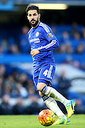 Cesc Fabregas of Chelsea in action. Barclays Premier league match, Chelsea v Everton at Stamford Bridge in London on Saturday 16th January 2016.<br /> pic by John Patrick Fletcher, Andrew Orchard sports photography.