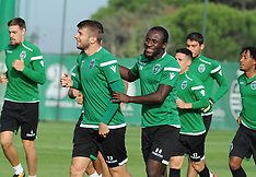 Sporting CP Training Session and Press Conference - 17 October 2017