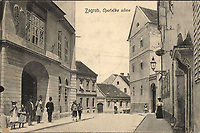 Zagreb : Opatička ulica. <br /> <br /> ImpresumZagreb : Naklada papirnice A. Brusina, 1907.<br /> Materijalni opis1 razglednica : tisak ; 8,7 x 13,8 cm.<br /> NakladnikTiskara A. Brusina<br /> Mjesto izdavanjaZagreb<br /> Vrstavizualna građa • razglednice<br /> ZbirkaGrafička zbirka NSK • Zbirka razglednica<br /> Formatimage/jpeg<br /> PredmetZagreb –– Opatička<br /> SignaturaRZG-OPAU-1<br /> Obuhvat(vremenski)20. stoljeće<br /> NapomenaRazglednica je putovala 1907. godine.<br /> PravaJavno dobro<br /> Identifikatori000952679<br /> NBN.HRNBN: urn:nbn:hr:238:693518 <br /> <br /> Izvor: Digitalne zbirke Nacionalne i sveučilišne knjižnice u Zagrebu